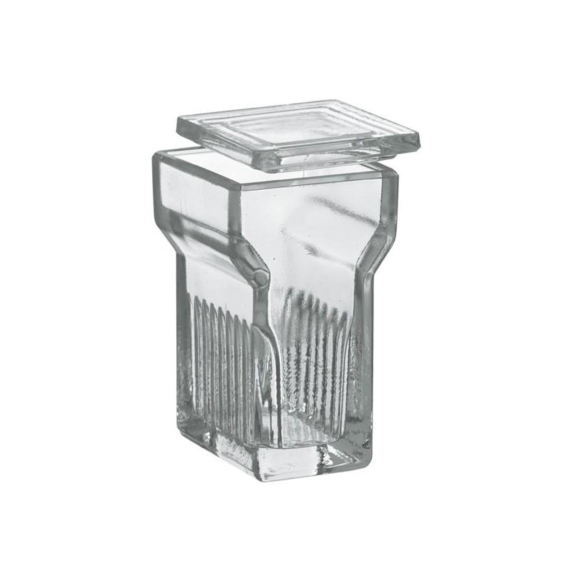 Jarrón de vidrio de tinción MEDITE