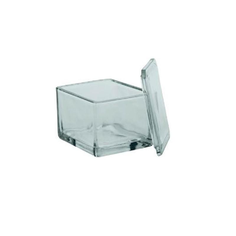 Caja Coplin de vidrio  MEDITE