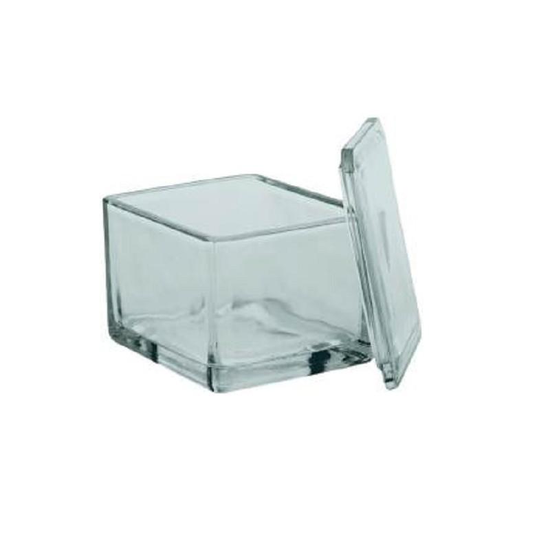 Jarra de vidrio de tinción MEDITE
