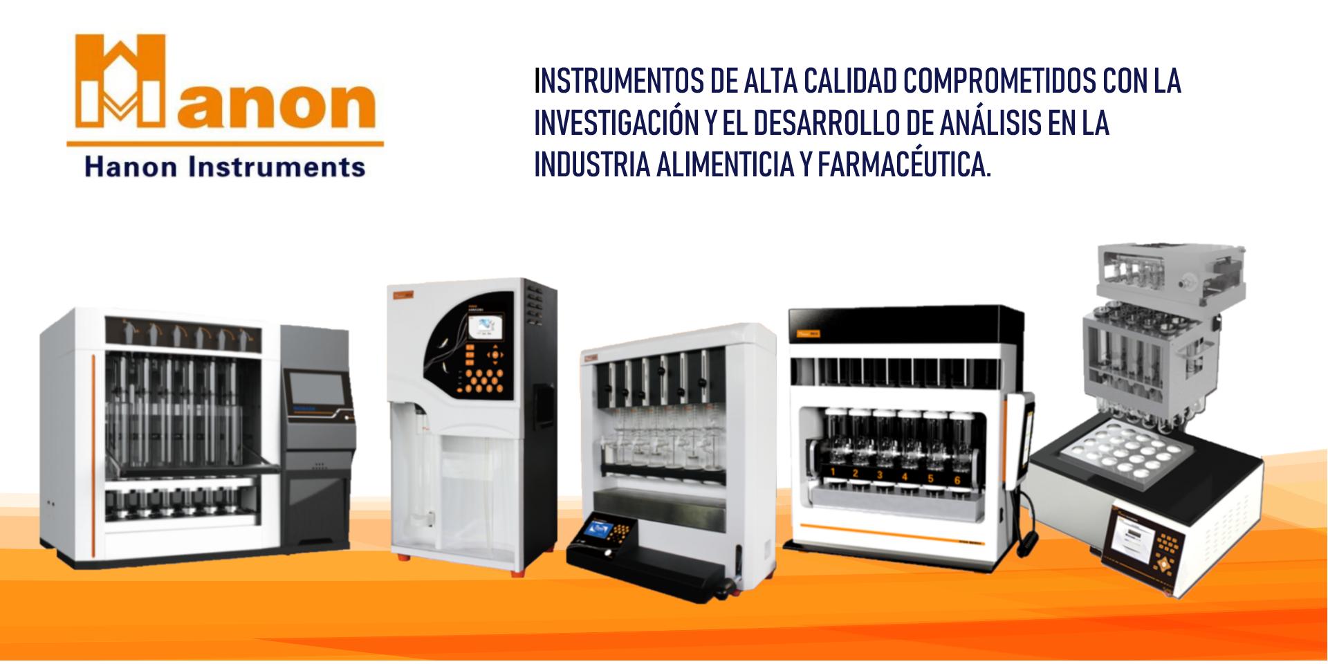 Analizador de fibra cruda, Analizador de proteínas, Analizadores Kjeldahl, Analizador de Proteínas, Kjeldahl, Hanon Instrumets